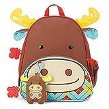 Skip Hop Zoo Winter Backpack & Plush Set - Moose