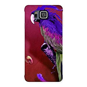Gorgeous Magic Parrot Multicolor Back Case Cover for Galaxy Alpha