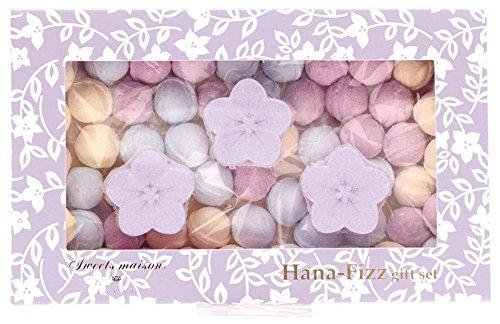 ノルコーポレーション お風呂用 芳香剤 スウィーツメゾン ジャパン 花フィズ ギフトセット 105g 桔梗 OBーSMWー4ー3