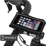 BM WORKS 自転車iPhoneホルダー iPhone 6専用 2重ロック 縦&横設置可能 BM-S3I-MBK