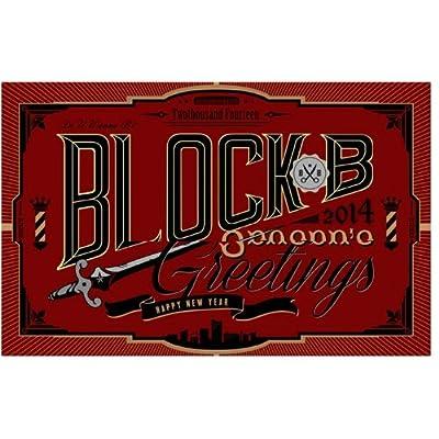 Block.b 2014年 公式 DVD&写真集カレンダーセット をAmazonでチェック!
