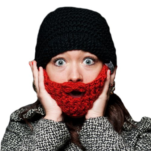 Beardo Original Foldaway Beard Hat - Ginger Black