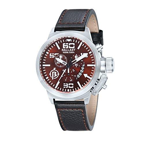 Ballast Men's BL-3101-0B TRAFALGAR Analog Display Swiss Made Watch