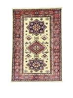 Eden Carpets Alfombra Kazak Super Rojo/Azul/Beige 147 x 101 cm