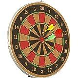 Sir-g Wood Dart Board With Darts