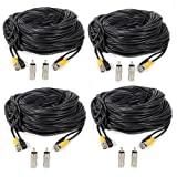 Masione-4-Pack-100ft-BNC-Video-Power-Cable-Security-Camera-Wire-Cord-for-CCTV-DVR-Surveillance-System
