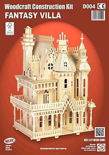 Construction Bois Kit : Fantasy Villa QUAY Kit de construction en bois FSC mod?le D004