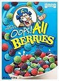 Cap'n Crunch's Oops! All Berries Cereal 11.5 Oz. Box (Pack of 4)