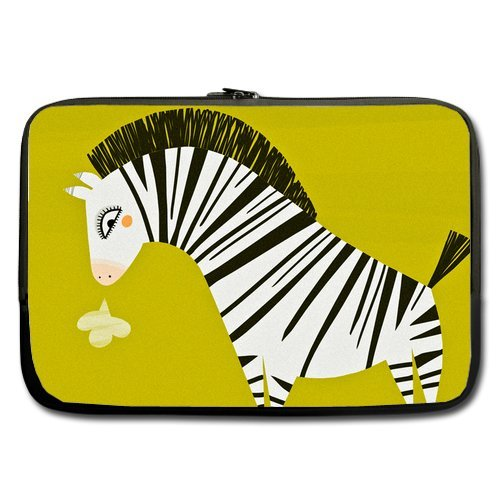 Anhome Cute Little Zebra Sigh Sleeve For Macbook Pro / Sleeve For Laptop / Notebook Computer / Macbook / Macbook Air 15''