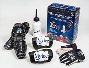 Buy Mylec Player's Set, Black White Blue, Small by Mylec