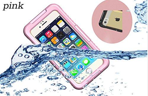 全4色VSTNApple iphone 6 4.7 インチ 専用防水防塵ケース iphone 6 4.7 inch  防水ケース 防水 防塵 耐衝撃 iphone6 スマホケース カバー アイフォン6 iPhone ケース 防水ケース (Apple iphone 6 4.7 インチ, ピンク)