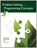 img - for Problem Solving and Programming Concepts (9th Edition) book / textbook / text book
