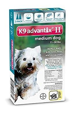 K9 Advantix II for Dogs 2-Month Supply 11-20lb