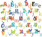 CherryCreek Decals Animal Alphabet Nu...