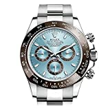 Rolex Cosmograph Daytona Ice Blue Dial Platinum Mens Watch 116506IBLSO (Color: Blue)