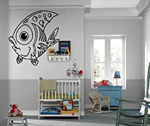 Amazon.com - Kids Room Little Fish Funny Nursery Pisces Astrology