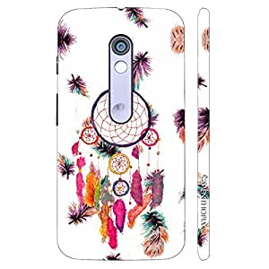 Enthopia Designer Hardshell Case Dream Catcher Art Back Cover for Motorola Moto X Play