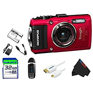 Olympus Waterproof Digital Camera with 4x OIS Zoom