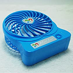 USB Powered Portable Multi Functional Cooling Fan(blue)