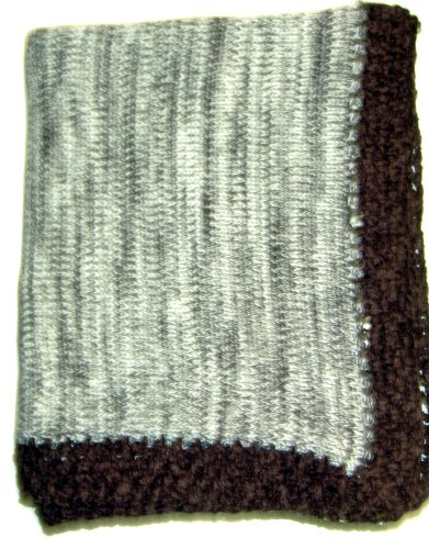 Hand Knitted Baby Blanket back-335623