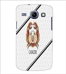 PrintDhaba Zodiac Cancer D-3350 Back Case Cover for SAMSUNG GALAXY MEGA 5.8 (Multi-Coloured)