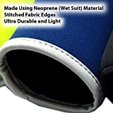 Beer Can Coolies - Pack of 6 Soda Bottle Koozies, Extra Thick Neoprene Material Insulators with Stitched Fabric Edges (4mm Thickness), Easy Storage, Soft Drink Can Sleeves