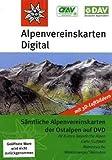 DAV Alpenvereinskarten-Karten der Ostalpen: Sämtliche Alpenvereinskarten der Ostalpen auf DVD