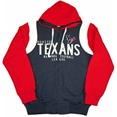 Houston Texans Coverage Full Zip Hoodie by G-III Sports