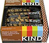 Kind Plus Protein Bars Peanut Butter Dark Chocolate -- 12 Bars