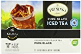 Twinings Iced Tea K-Cups, Pure Black,  12 Count