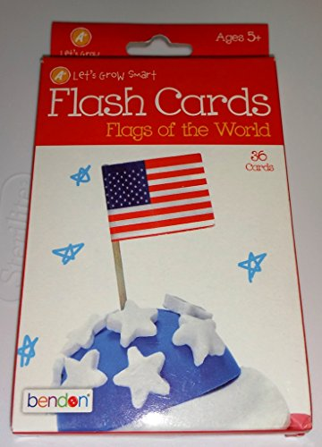 Flags of the World Flash Cards