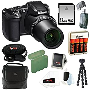 Nikon COOLPIX L840 Digital Camera and 32GB Accessory Bundle (Black)