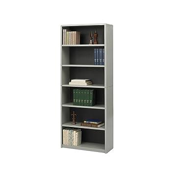 Safco Home Office 6-Shelf ValueMate Economy Bookcase - Gray