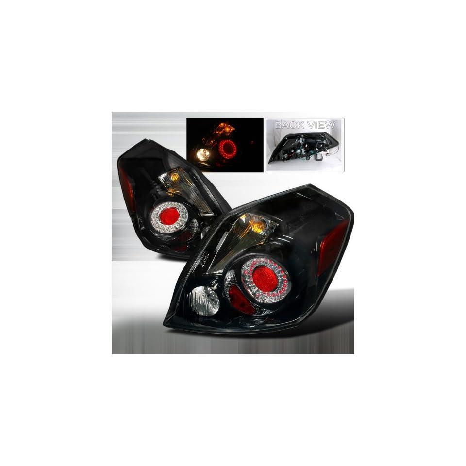 2007 2009 Nissan Altima Led Tail Lights Black 4 Door