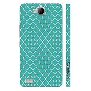Huawei Honor 3c BACK TO TURKEY designer mobile hard shell case by Enthopia
