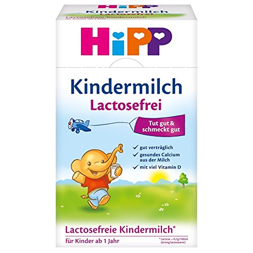 Hipp Lactose Free Organic Baby Formula/Growing Up Milk 500G 1 Years Of Age And Up- Imported From Germany- Shipping From Usa