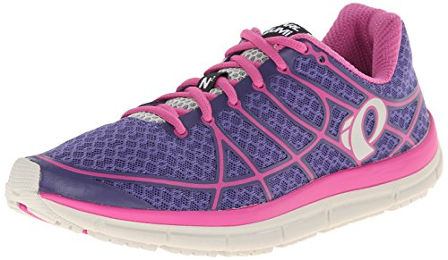 Pearl Izumi Women's W Em Road N 2 W/rv Running Shoe, Wisteria/Rose Violet, 8.5 B US (Supinator Shoes compare prices)