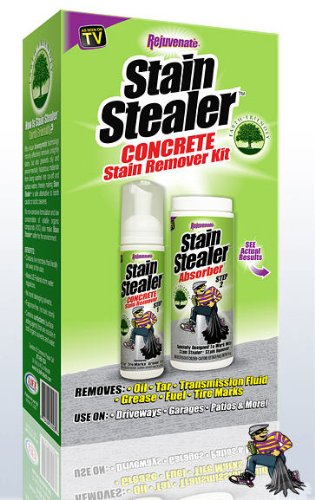 Rejuvenate Auto Garage and Driveway Stain Remover Kit- Formerly known as Rejuvenate Stain Stealer