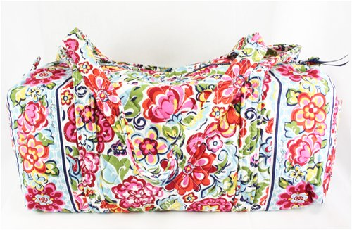 Buy Vera Bradley Small Duffel Bag in Hope Garden Now 9cebddb9e4d72