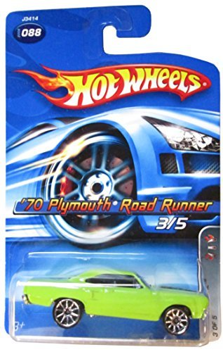 hot-wheels-bright-green-70-1970-plymouth-road-runner-2007-by-mattel