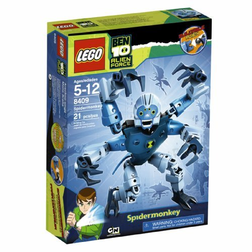 Lego Ben 10 Alien Force Spidermonkey (8409) By Lego Picture