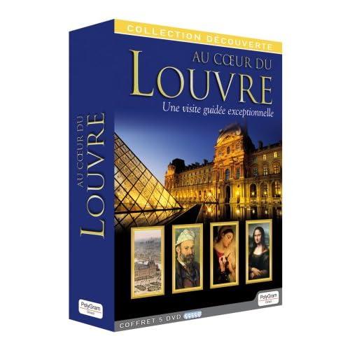Coffret 5 DVD : Au coeur du LOUVRE