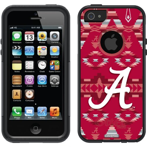 Best Price Alabama - Tribal design on a Black OtterBox® Commuter Series® Case for iPhone 5s / 5