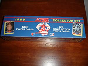 Score 1989 Baseball Card Factory Set by SCORE
