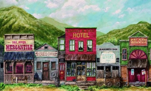 western town background - photo #37