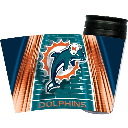 Nfl Miami Dolphins Insulated Travel Tumbler