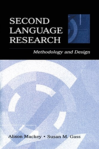 Second Language Research: Methodology and Design (Second...