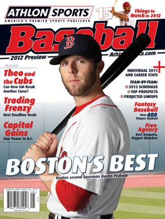 2012 Athlon Sports MLB Baseball Preview Magazine- Boston Red Sox Cover at Amazon.com