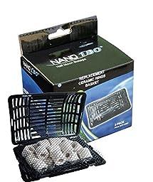 JBJ Lighting Nano 180 Ceramic Ring Basket (3 Pack)