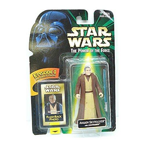 Star Wars 1998 POTF Flashback Anakin Skywalker Carded - 1